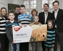 MOL 1.5 M Ft-os adománya az AEEA-nak
